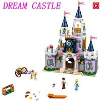 Legoed Movie LepinS Friends Girls Series The 41154 Dream Castle Set building Blocks Bricks Legoingly Educational Toys Kids Gift