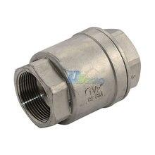 1 — 1/2 » обратный клапан 1000wog 1000 пружиной в линию из нержавеющей стали SS316 CF8MGood качество