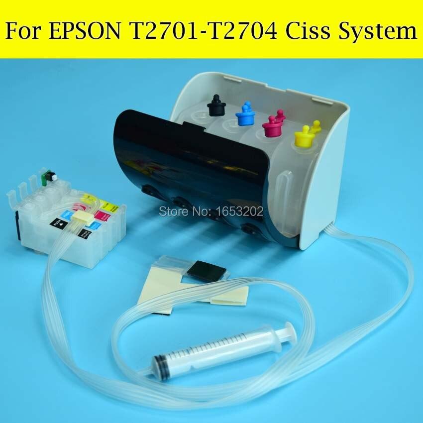 1 set T2701-T2704/T270 Système Ciss Pour Epson Avec Puce ARC Pour Imprimante Epson WF 7715 7710 7720 7210 7110/7610/7620/3620/3640