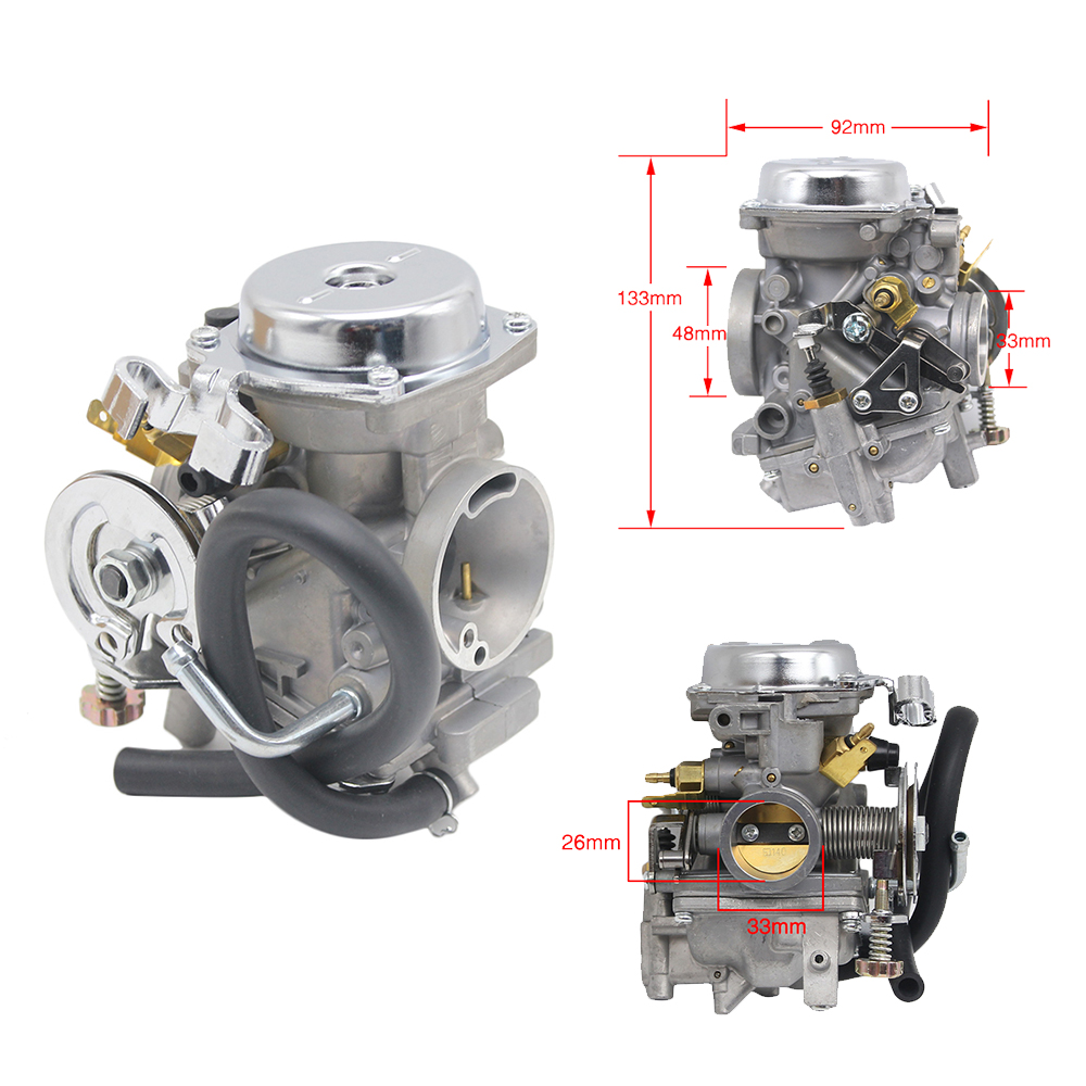 Alconstar 26mm Motorcycle Carburetor Aluminum Alloy  Scooter Carb For Yamaha Virago XV250 Route 66 Virago XV125 V star 250-in Carburetor from Automobiles & Motorcycles    2