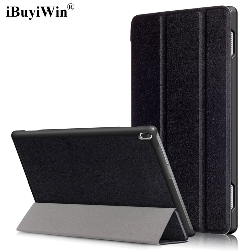 Case For Lenovo Tab 4 10 TB-X304F/X304N/X304L 10.1 Tablet Stand Smart PU Leather Funda Flip Cover With Auto Sleep/Wake+Film+Pen ynmiwei for miix 320 leather case full body protect cover for lenovo ideapad miix 320 10 1 tablet pc keyboard cover case film