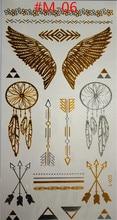 Design Of Temporary Tattoos Temporary Waterproof Body Art Angel Wings Tattoo