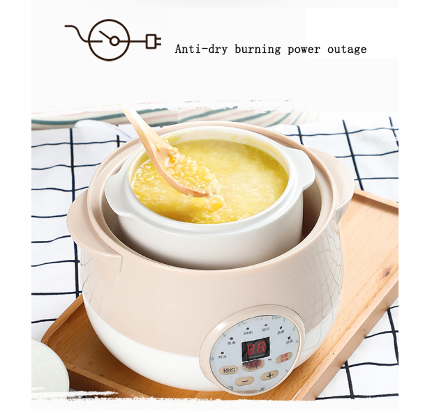 Mini Electric Hot pot Students electric cooker Korean style home  Steamer Braised, steamed, stewed, boiled 1L AntiDry burn powerMini Electric Hot pot Students electric cooker Korean style home  Steamer Braised, steamed, stewed, boiled 1L AntiDry burn power