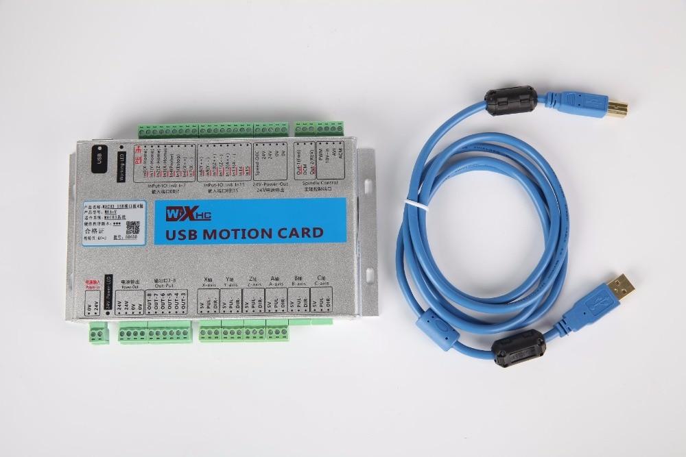 XHC Mach3 Motion Control карта с ЧПУ коммутационная плата 2000 кГц 3 оси usb порт