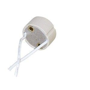 GU10 держатель лампы гнездо Базовый адаптер провода разъем керамическая розетка для GU10 LED галогенная лампа