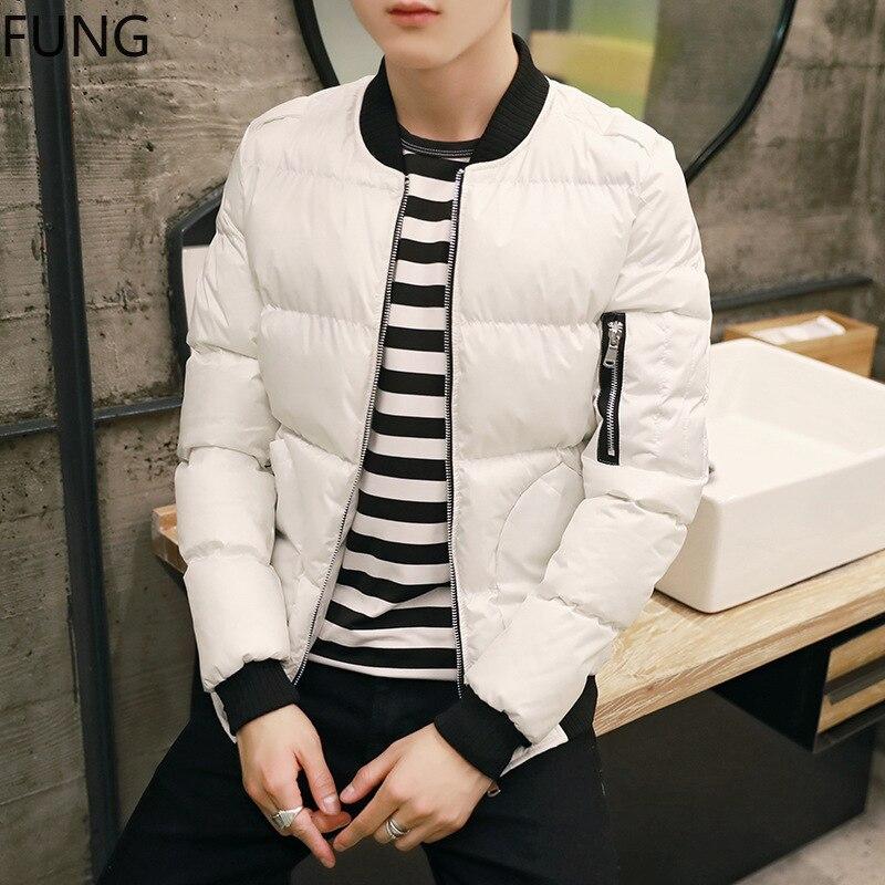 Rivestimento Black In 2018 Cappotto white Degli Moda Inverno Uomini Cotone  Vestiti Lungo E Giacca Mens Casual Di Gioventù rwSqaBr 286b509ce00
