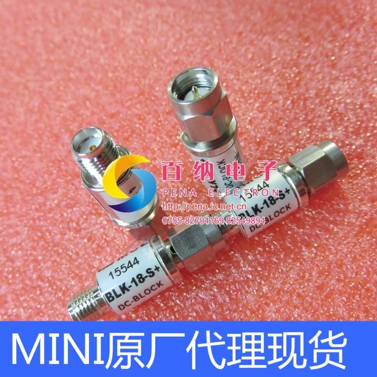 RF Microwave Isolator of MINI BLK-18-S+ 0.01-18GHz SMA DC Blocker цены