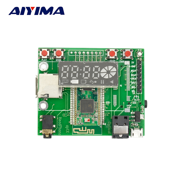 Bluetooth Digital Playback Board WAV / APE / FLAC Lossless Decode I2S Digital audio Output differential Single-end output 5V