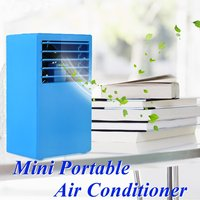 Portable Mini Air Conditioner Summer Air Cooler Humidifier Touch Control fresh air timing home Desktop Office DC 24V Air Cooling