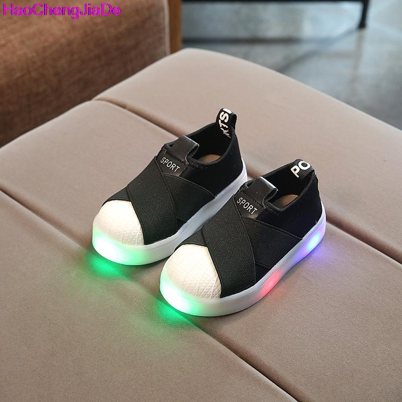 HaoChengJiaDe-Kids-Shoes-With-Light-Boys-Shoes-2017-Children-Canvas-Sport-Led-Girls-Princess-Shoes-Baby-Boys-Sneakers-Size-26-30-2