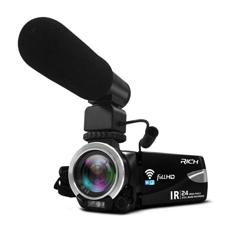 KaRue New HD Digital Video Camera 1080P Infrared Night Vision Camera WIFI Wireless Camera Microphone Remote Control DVR цена 2017