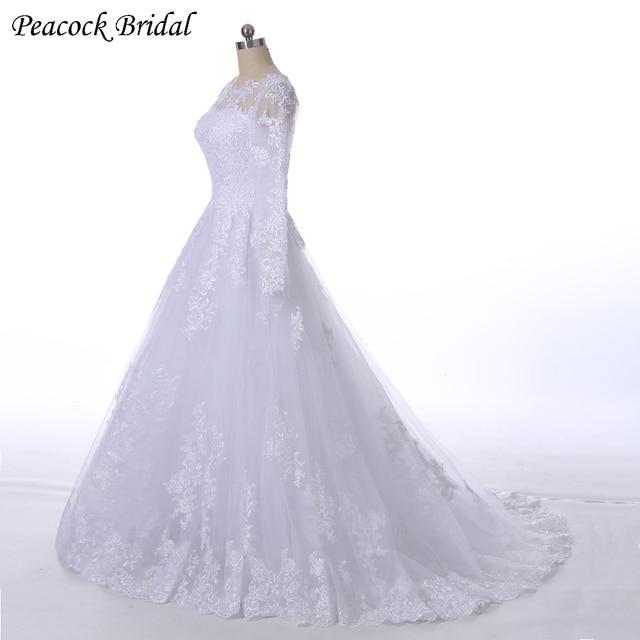Peacock Wedding Dresses