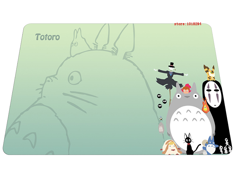 Totoro mouse pad best sell mousepad laptop My Neighbor Totoro mouse pad grande gear notbook computer anime gaming mouse pad