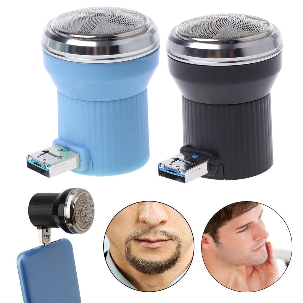 Creative Electric Shaver Mini Portable USB Charging Travel Beard Trimmer Razor