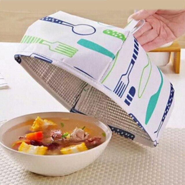 Lebensmittel Warm Gemüse Abdeckung Faltbare Aluminiumfolie Abdeckung ...