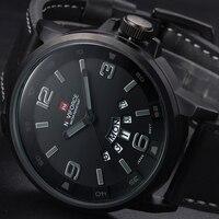 Relogio Masculino Luxury Military Brand Genuine Leather Analog Display Date Men S Quartz Watch Sports Watches