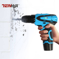 Tenwa 12V Electric Drill Electric Screwdriver Lithium Battery Rechargeable Cordless Drill Power Tools Parafusadeira Furadeira