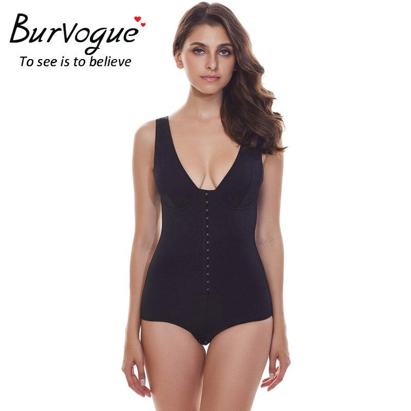 Burvogue Ženske Seksi Plus velikost Celoten oblikovalec Bodi obleke - Spodnje perilo