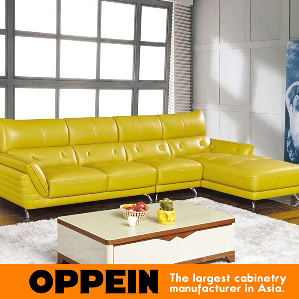 Yellow leather sofa set marvelous yellow leather sofa for Quality modern furniture