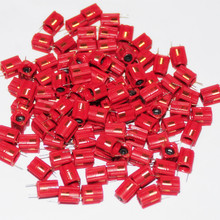 100pcs 7.5Turns 7.5T Variable Inductor Coil Adjustable Inductance 7.5 Turns Around 50-100nh