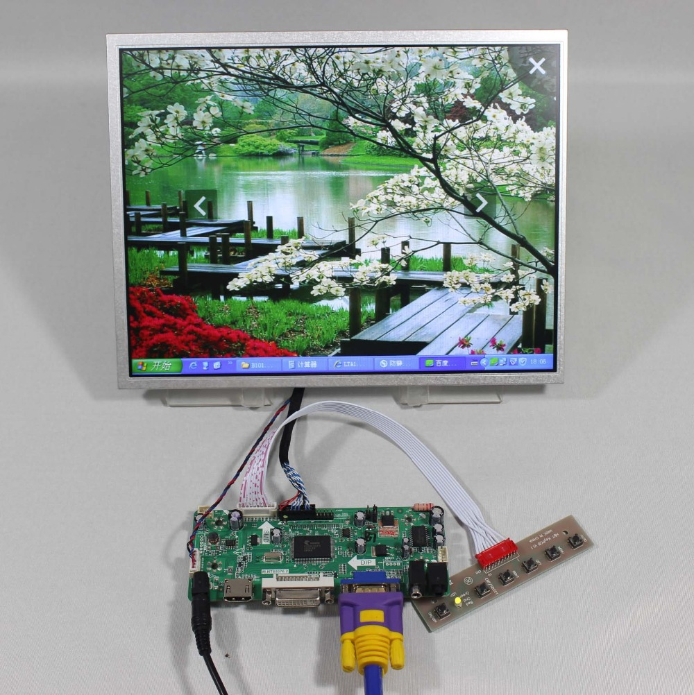 Details about  HDMI+VGA+DVI+Audio Controller board+12.1inch AC121SA01 800*600 lcd panel hdmi dvi vga audio lcd control board for 12 1inch lq121s1lg75 800 600 lcd panel