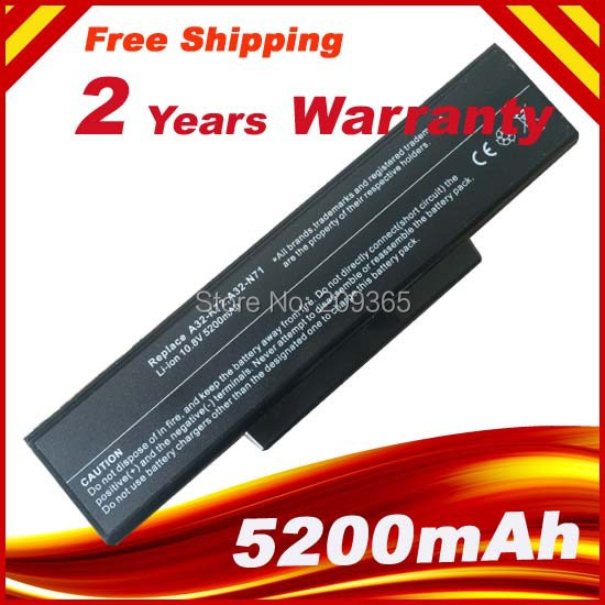 Laptop Battery For Asus X73s A72 A72D A72DR A72J K72 K72D K72F K72J K72JA A32-K72 K72S N71 N73 X77