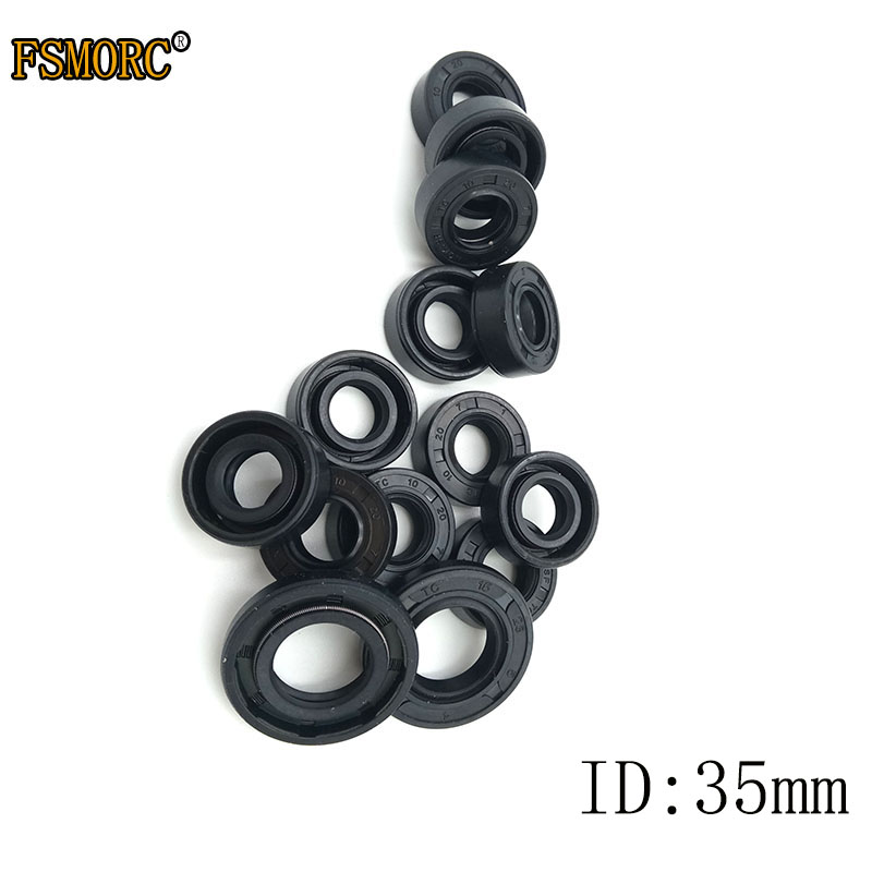 Rotary shaft oil seal 26 x 52 x pack height, model