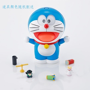 2018 Genuine Doraemon The Robot Spirits Face/Eyes-Changeable YouTube Fashion Model Kits Anime Action Figure Collection Toys