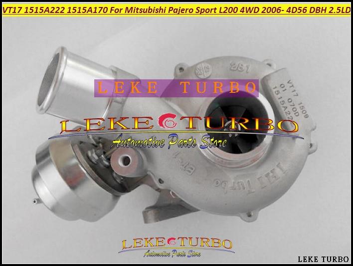 RHV4 VT16 VAD20022 1515A170 Turbo Turbocharger For Mitsubishi L200 2007-09;Triton 2010- 2.5L DiD 4D56 DBH DIE 5VX 2.5L 123kw экран для ванны triton мишель 170 r