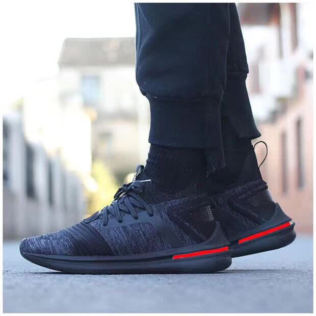 2019 New Arrival Original PUMA IGNITE Wear-Resisting Cushioning Men's shoes Fleece leather Badminton Shoes Sneakers Size 40-44