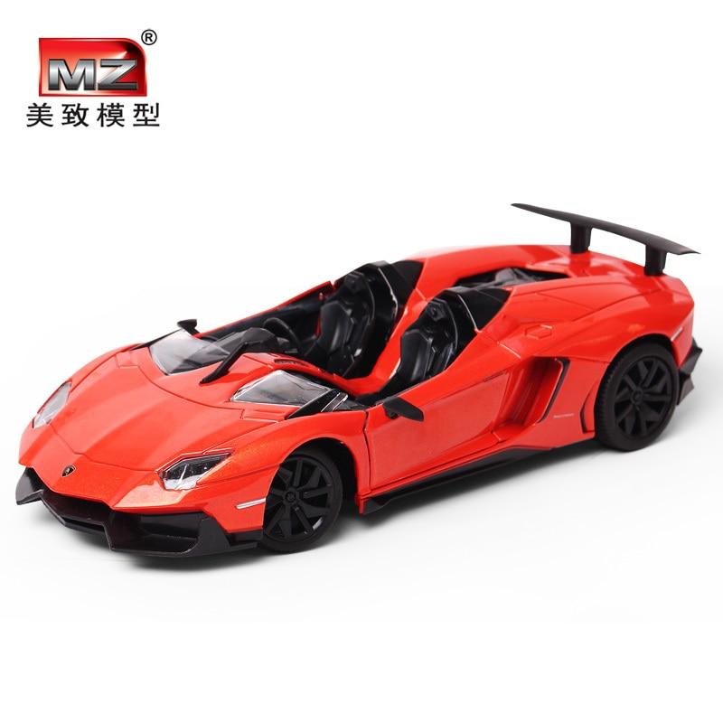 124 scale model lp murcielago 700j metal alloy diecast car models toys miniature kids