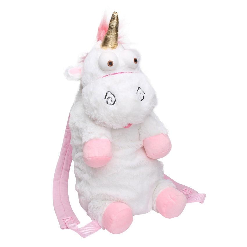 60 cm licorne sacs à dos cartable pour enfants jouets en peluche créateur de mode mignon cheval filles enfants cadeau petit dessin animé sacs souples