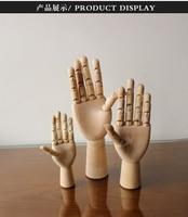 Mannequin Sketch Drawing Practice Manikin Hand Wooden Dummy Model Men Joint Wooden Hand Model On Sale