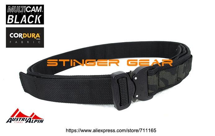 ФОТО TMC 1.5 Inch PALS Shooter Belt AustriAlpin Cobra Buckle Multicam Black Military SWAT Tactical Belt+Free shipping(SKU12050864)