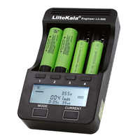 Liitokala Lii-500 S1 S2 Lii-PD4 LCD 3,7 V 18650 18350 18500 21700 20700B 20700 10440 14500 26650 AA NiMH литиевая батарея зарядное устройство