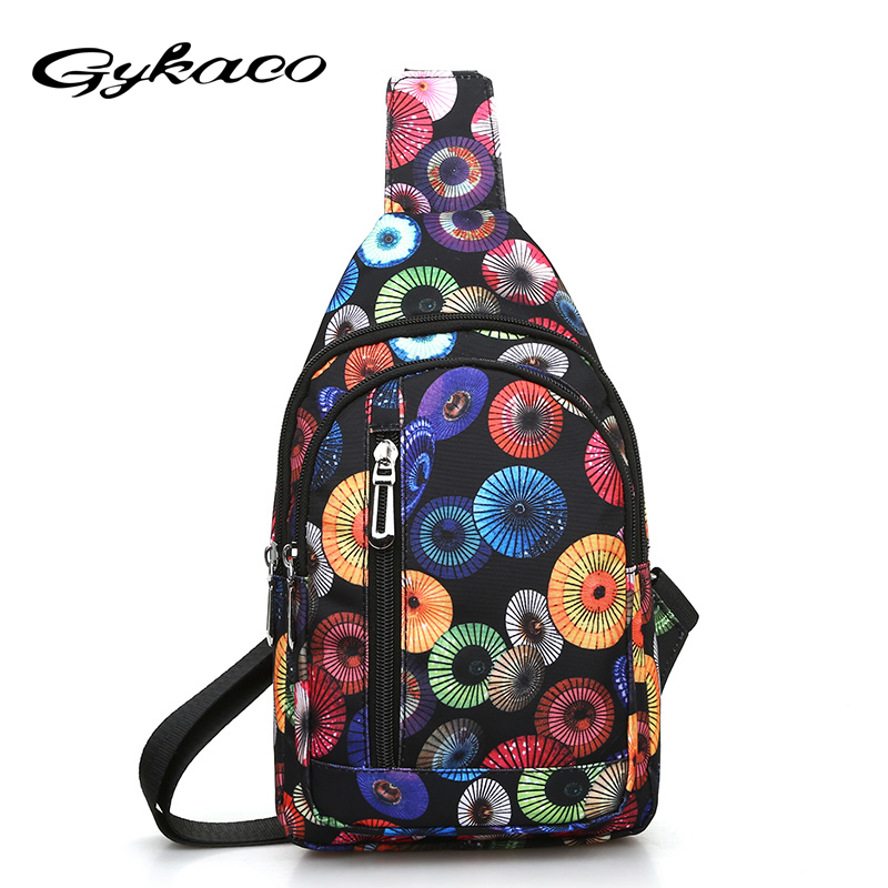 Gykaeo 2018 Summer New Korean Fashion Canvas Leisure Students Single Shoulder Bag Men Travel Waist Bag For Women Messenger Bags