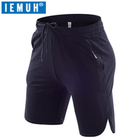 IEMUH Brand New Men S Casual Summer Shorts Sweatpants Male Fitness Bodybuilding Workout Man Fashion Short