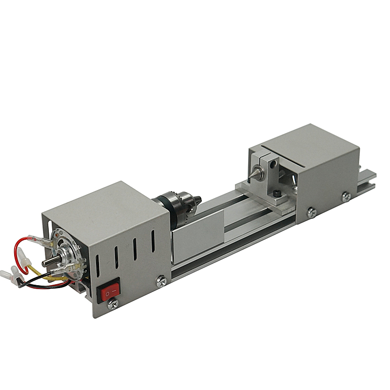 Small Micro Beads Polishing Lathe Cutting Car  Machine Mini DIY Woodworking Turning-lathe