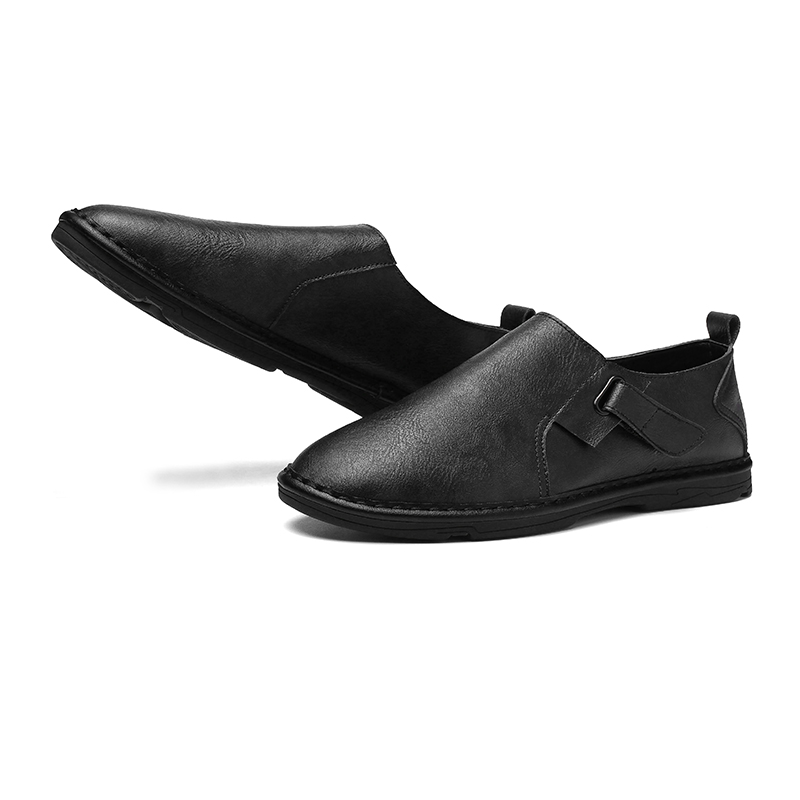 4572df2f5500c Marque Taille brown Mocassins Homme 2019 Vmuksan Slip Sur Black Mode Luxe  Chaussures Nouveau Occasionnels Doux ...