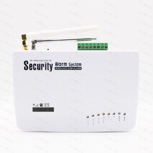 Image 2 - Sistema de alarma de seguridad GSM para el hogar, marcador automático de voz SIM en inglés y ruso, llamada SMS, control remoto