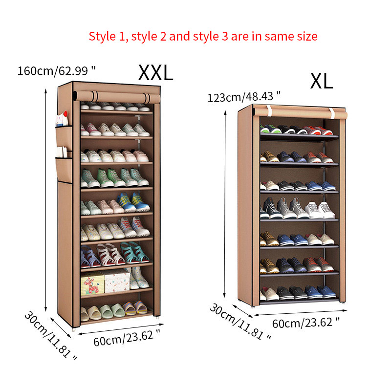 Image 2 - Furniture Shoe Racks Shoe Cabinets Save Space Multiple Layers Shoes Shelf Holder Stand Dustproof Home Organizer Living RoomShoe Cabinets   - AliExpress