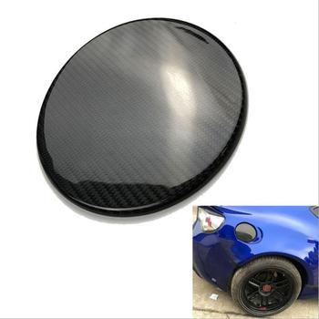 Car Carbon Fiber Oil Fuel Tank Cap Cover Trim Fit For Toyota 86 Subar BRZ 2013-2017