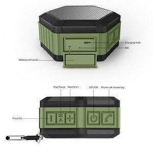 Image 4 - IP65 wodoodporny głośnik niskotonowy Bluetooth potężny Mini przenośny głośnik bezprzewodowy do telefonu zewnętrznego odtwarzaj pozytywkę