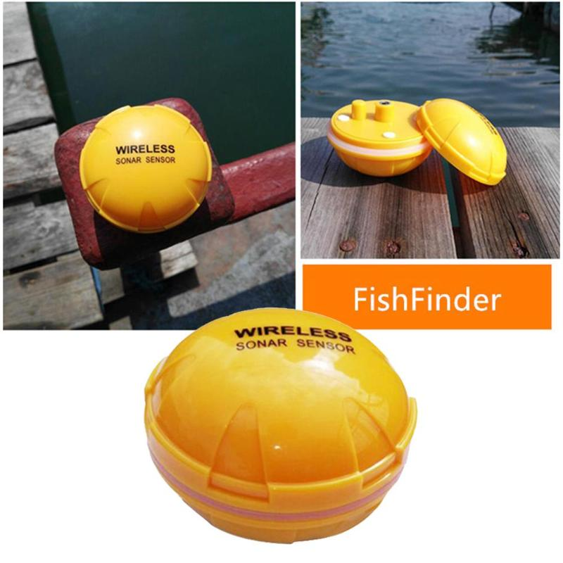 Mobile Phone Fishfinder Wireless Bluetooth Visual HD Sonar Fish Finder Depth Sea Lake Fish Detector Smart Sonar Echo Sounder 2018 phone fishfinder wireless sonar fish finder depth sea lake fish detect ios android app findfish smart sonar sounder xnc