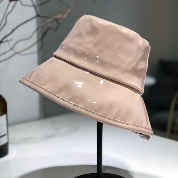 01809 liupei10 glossy coat of paint fashion LADY bucket cap men women leisure fishmen hat in Women 39 s Bucket Hats from Apparel Accessories