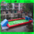 Guangzhou QinDa Parque Infantil de Futebol de Campo de Futebol de Sabão Inflável Para Jogos de Esportes Ao Ar Livre