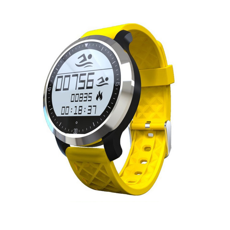 Symrun Wearable Device Heart Rate Monitor Smartwatch Fitness Tracker F69 Bluetooth Smart Watch Wrist Smartwatch for Android zaoyiexport bluetooth f69 smart watch ip68 fitness tracker heart rate monitor smartwatch for iphone xiaomi android pk gt08 dz09