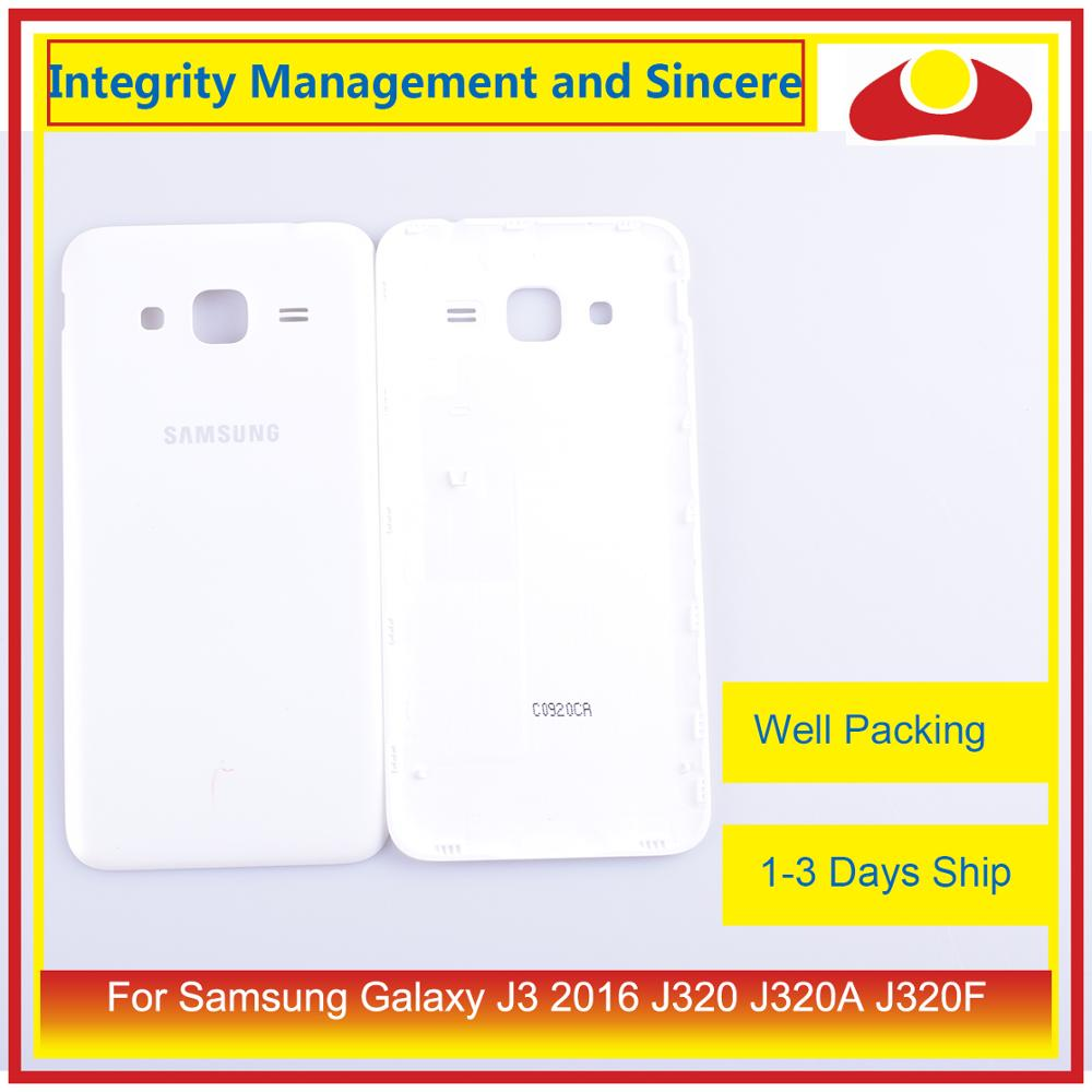 Image 4 - 50Pcs/lot For Samsung Galaxy J3 2016 J320 J320A J320F J320M J320FN Housing Battery Door Rear Back Cover Case Chassis Shell-in Mobile Phone Housings & Frames from Cellphones & Telecommunications
