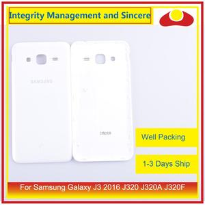 Image 4 - 50Pcs/lot For Samsung Galaxy J3 2016 J320 J320A J320F J320M J320FN Housing Battery Door Rear Back Cover Case Chassis Shell