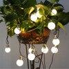 Novelty 20 LED G45 Globe Connectable Festoon Party Ball String Lamps Led Christmas Lights Fairy Wedding